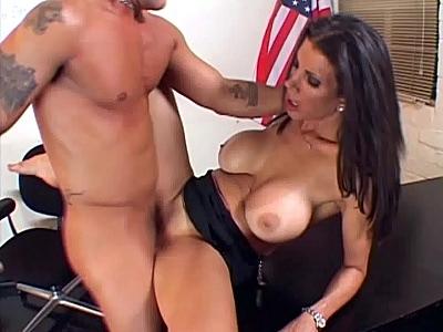 Busty MILF Cock Crammed