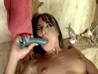 Hot MILF Dildo Stuffed