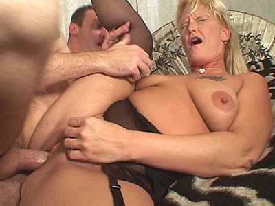 Blonde milf Takes Cock Humping