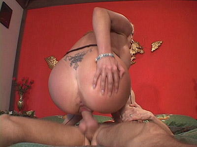 Big Ass MILF Humping a cockeyed