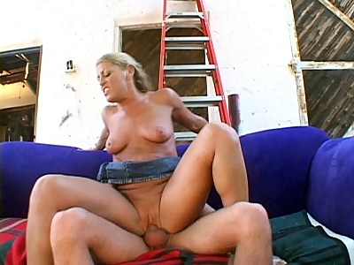 Stacked MILF Rides weather Top