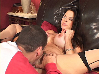 Busty Young MILF Enjoys Pussy trouncing
