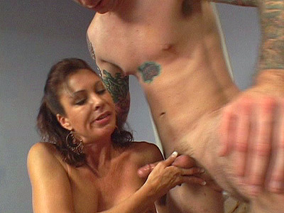 Cock Greedy MILF Vanessa 