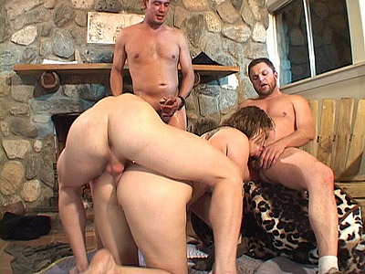 Horny milf Enjoys Gang Banging